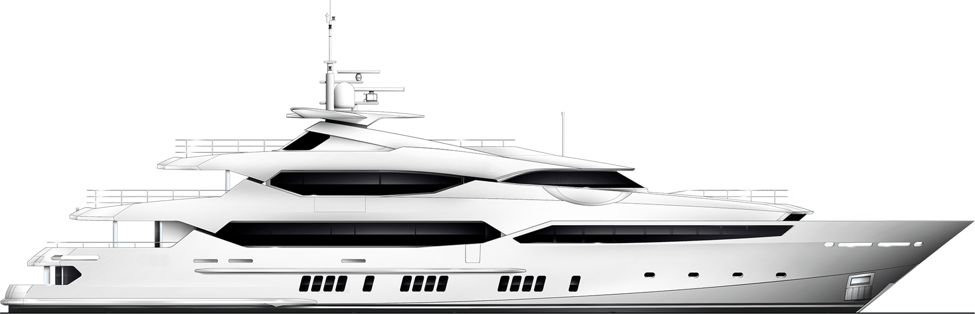 Luxury Motor Yacht