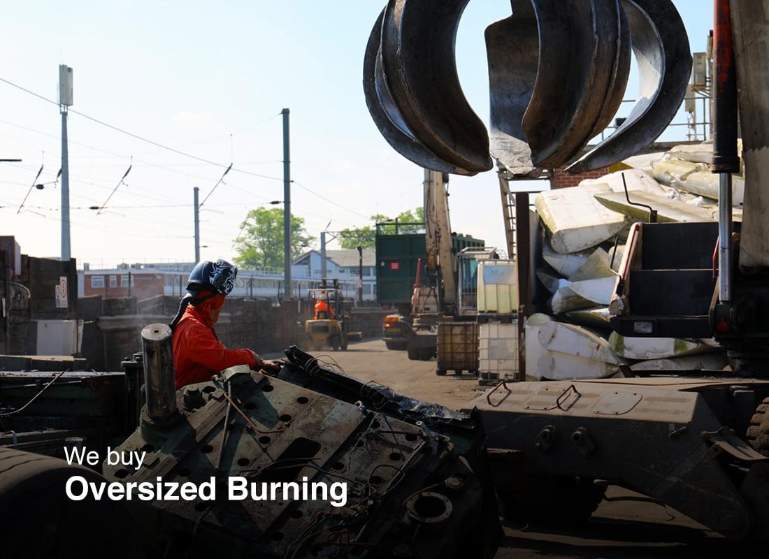 Oversized Burning Buyers