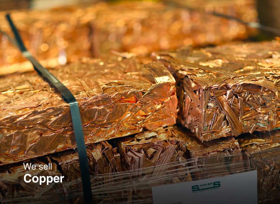 Copper ready for selling