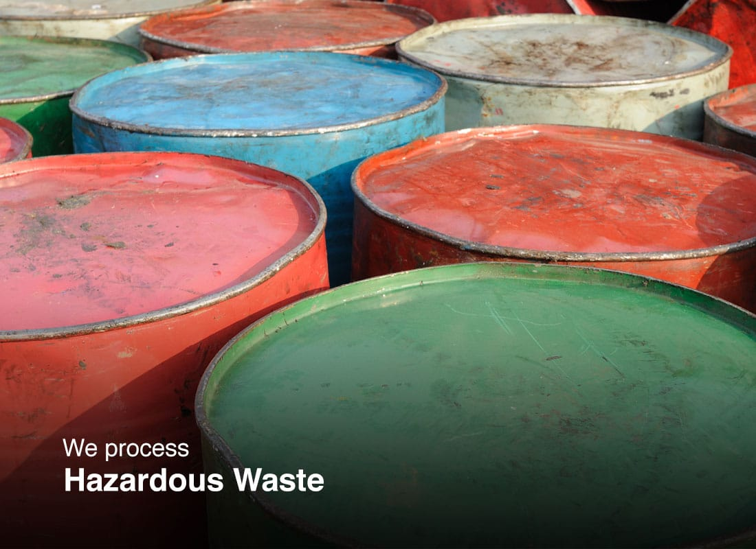 Hazardous waste scrap