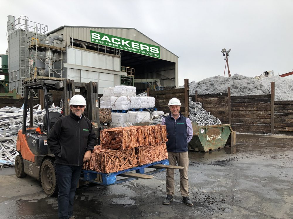 Sackers secure recycling contract for UK's biggest electrical distributor 1