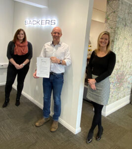 Sackers commit to gender equality in the workplace 9